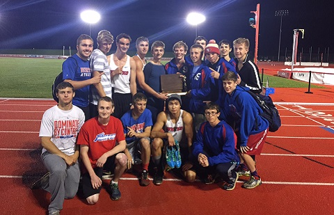 2016 Boys Track IHSAA Sectional Champs & TRC Champs!
