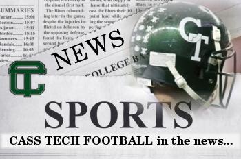 CASS TECH FOOTBALL NEWS