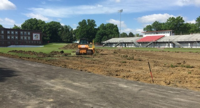 Track and Turf Project Underway