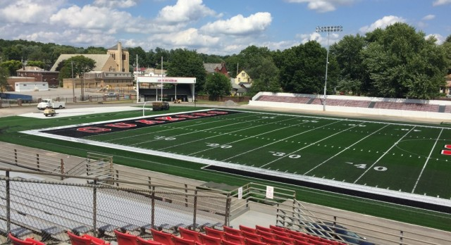 Reilly Stadium closed 9/8-9/21—GAME CHANGES DURING THAT TIME