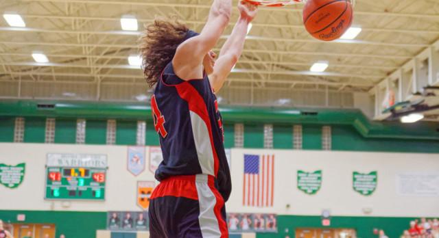 Salem High School Boys Varsity Basketball beat West Branch High School 66-58