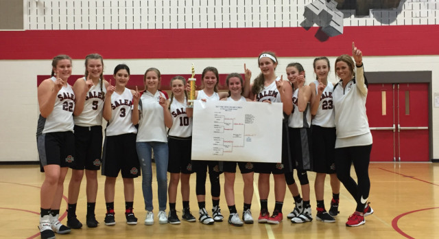 Congrats to the 8th Grade Girls Basketball Team-Undefeated and NBC Champions