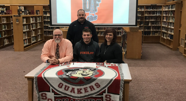 Congrats Cooper Bezeredi on Signing to Play Football at University of Findlay