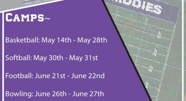 Middie Athletics Offering 7 Youth Sports Summer Camps; Sign up Today Online!