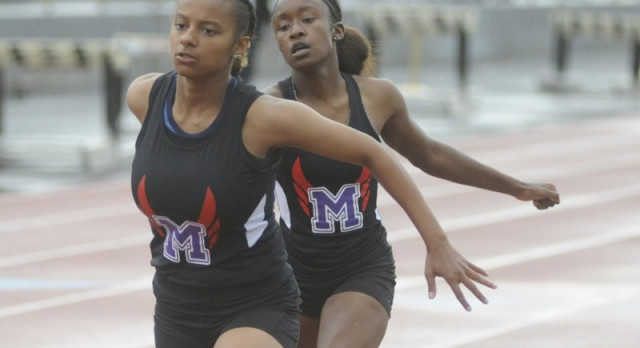 Middies Qualify 13 for Regional Track & Field Meet; Petty, Smith Take 1st at District