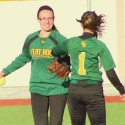 FRHS Softball Madonna University Benefit games vs Divine Child 5-3-2014