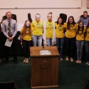 Lady Rams Recognized by School Board & City Council 4-20-2015