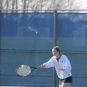 2014 GIRLS TENNIS VS HSE  04/19