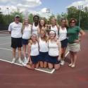 2014 JV Girls Tennis wins L.C. Tournament