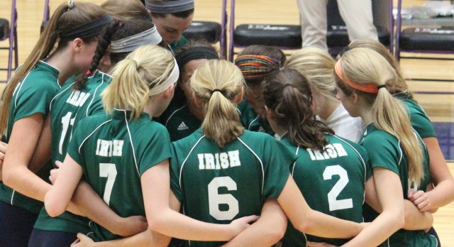 Cathedral Volleyball Wins Season Opener
