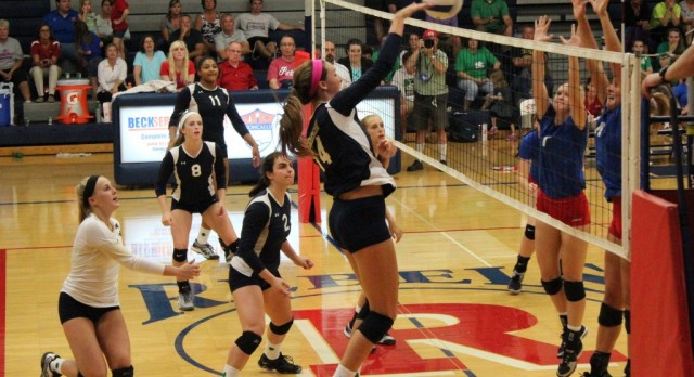 Irish VB Rout Rival Roncalli