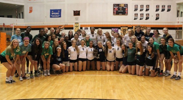 Cathedral Volleyball Wins 2015 City Championship