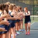 2016 Lady Irish Tennis defeats Bloomington South