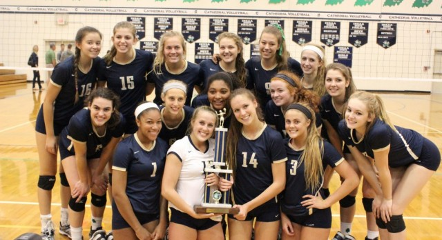 Cathedral Volleyball Earns 19th Consecutive AVCA Team Academic Award!