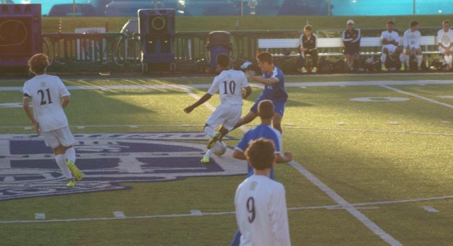 Cathedral Men's Soccer Team Defeat Heritage 2-0, Advance to Finals