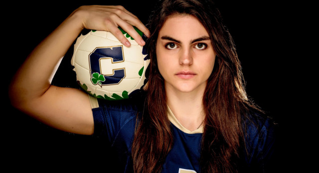 Cathedral Volleyball Star Maria Schorr Named Valedictorian for the Class of 2017