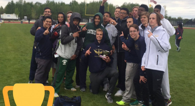 Boys Track and Field All-Catholic Champions!!!