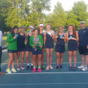 2017 Girls Varsity Tennis wins City Championship