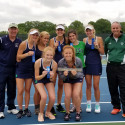 2017 Lady Irish varsity Tennis wins semi-state