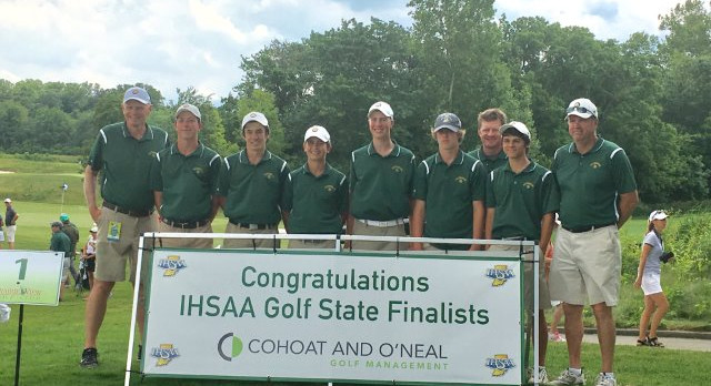 State Golf Results