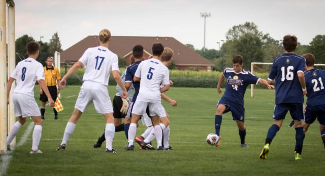 Irish Boys Soccer Travels to Columbus