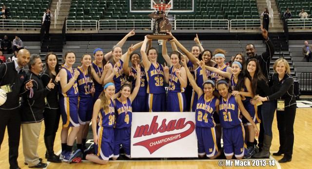 Marian Basketball State Champions!