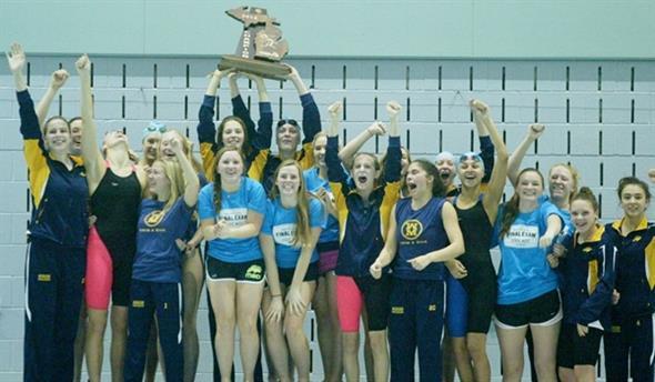Marian Swim wins State Championship!!