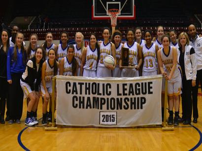 Marian wins CHSL Basketball Championship!