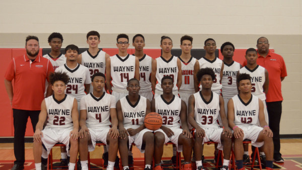 JV Boys Basketball Team 2016-17