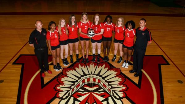 Girls JV A Volleyball Team Photo 2017