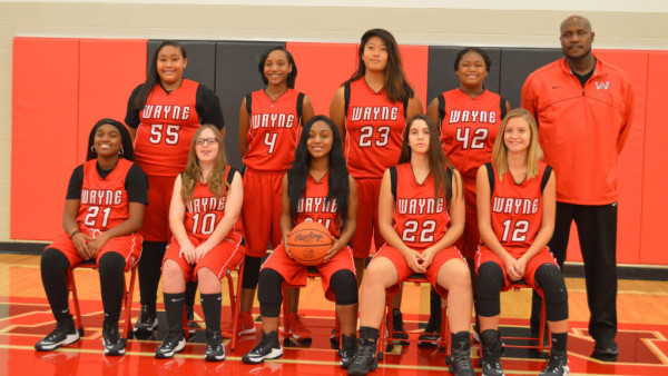 Freshmen Girls Basketball Team 2016-17