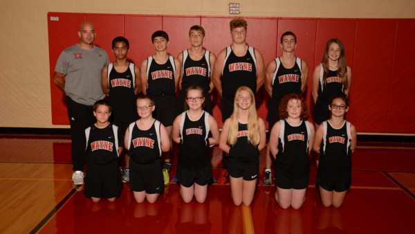 JrHigh Cross Country Team 2017
