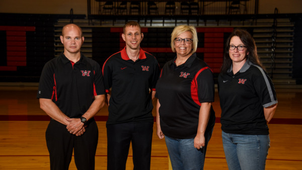 Coaches Volleyball Group Photo 2017