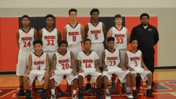Freshmen Boys Basketball Team 2016-17