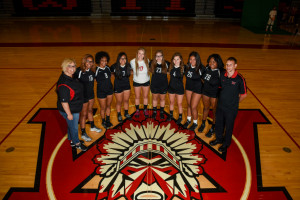 Girls Varsity Volleball Team 2017