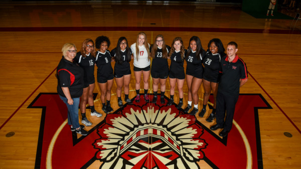 Girls Varsity Volleball Team 2017