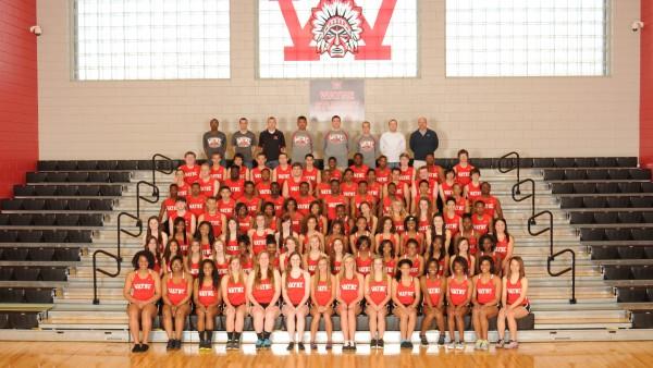 2014 Varsity Track Team