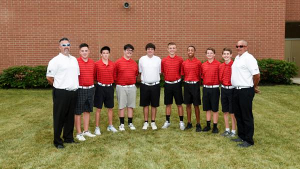 Boys Golf Team 2017