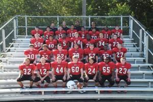 7th Grade Football Team Pic 2016