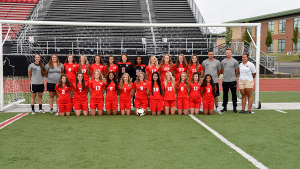 Girls Soccer Varsity Team 2017