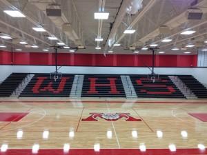 Wayne H.S. - Main Gymnasium