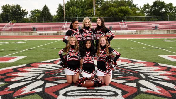 Freshmen Fball Cheer Squad 2017