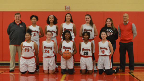 7th Girls Basketball Team 2016-17