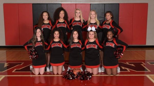 JV Basketball Cheer Squad 2016-17