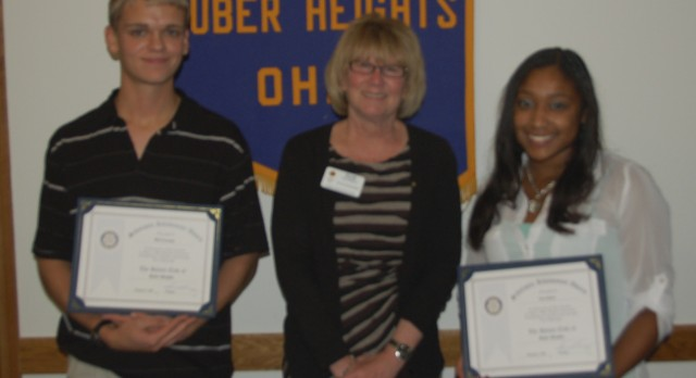 November Rotary Scholar Athletes: Matt Krauskopf & Jacoi Jackson