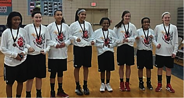 MS Girls Basketball: 8th Grade Clinch 3rd Place in GWOC