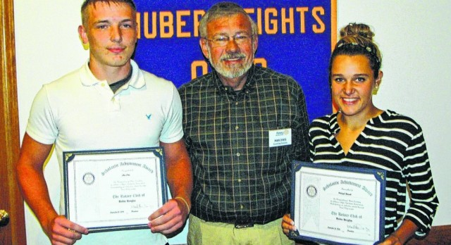 September Rotary Scholar Athletes: Haleigh Russell & Alex Otto
