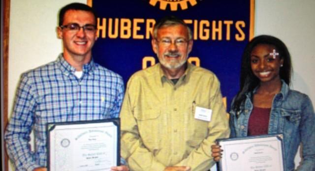 October Rotary Scholar Athletes: Bryce Haney & Akaila Howard