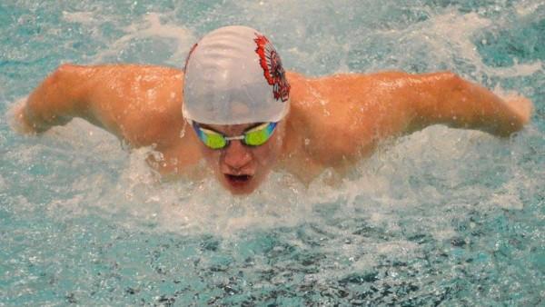 Justin Williams Swimming