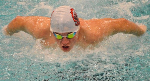 Swimming: Justin Williams – Record Breaker